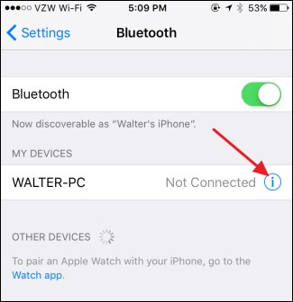 iphone 6 bluetooth not working