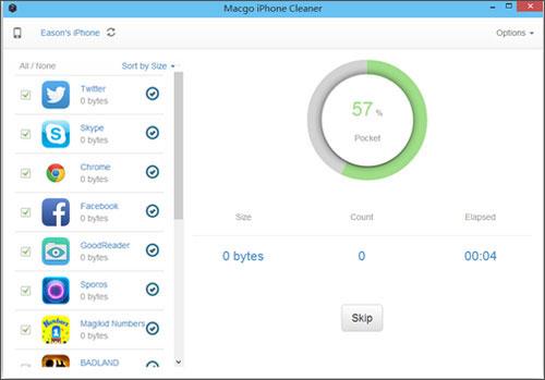 data erase software Macgo Free iPhone Cleaner