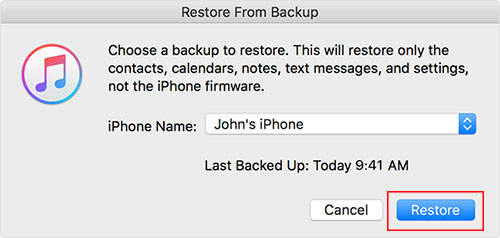 downlaod photos from itunes backup