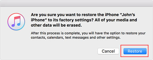 recover messages using itunes backup