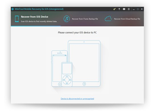 MiniTool Mobile Recovery for iOS