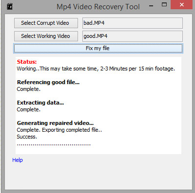 mp4 video recovery software
