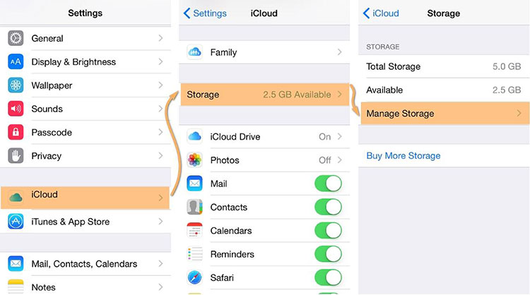 how to delete photos from iphone but not icloud drive