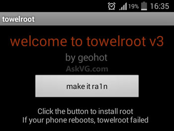 one click to root
