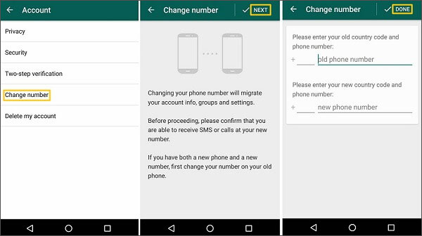 whatsapp account recovery