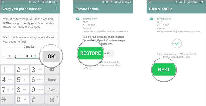whatsapp account recovery 1