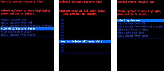 how to reset a phone that is locked
