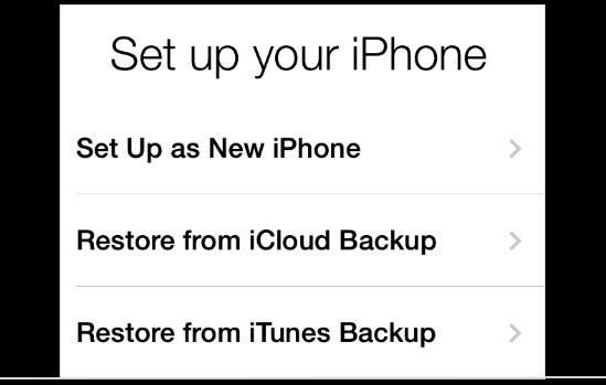restore iphone from backup windows
