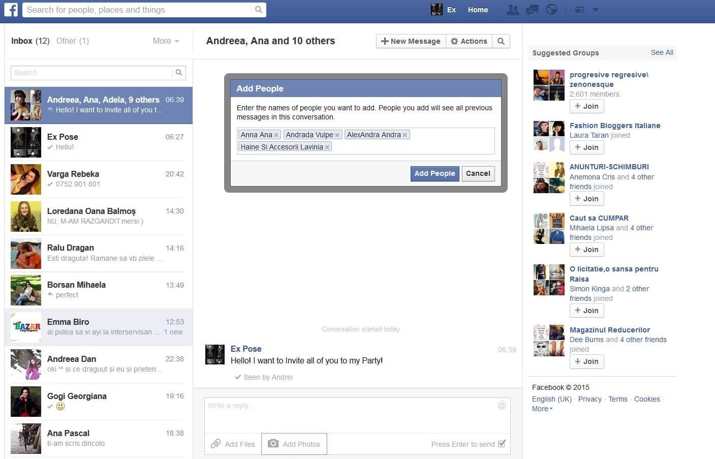 How to Send Messages/Photos/Videos on Facebook.com