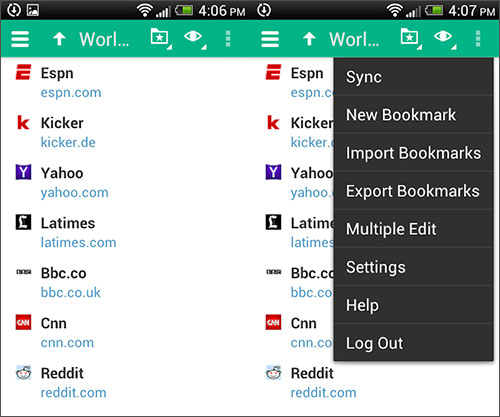 How to Backup Bookmarks on Android Phone