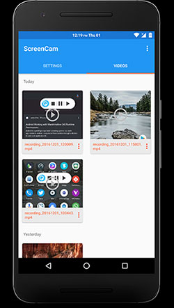 free screen recorder for android