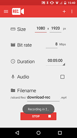 free android screen recorder