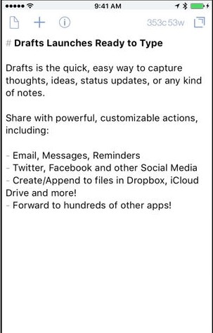 top ios notes apps