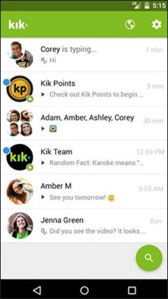 how to block someone on kik messenger