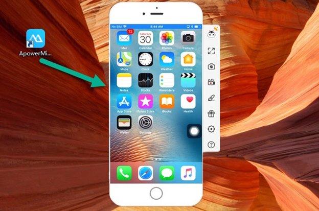 iOS mirror app