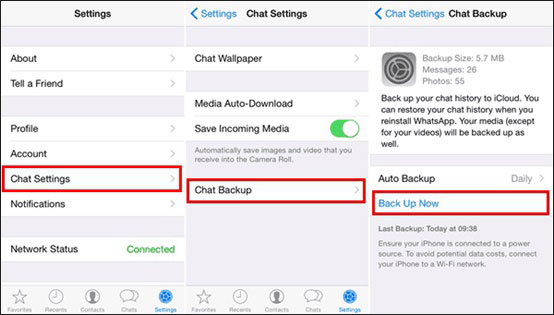 how to transfer whatsapp from iphone to iphone