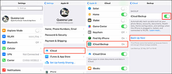 how to backup iphone notes
