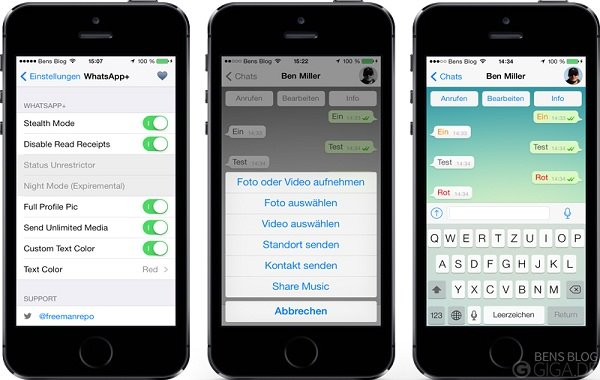 messaging apps for iphone